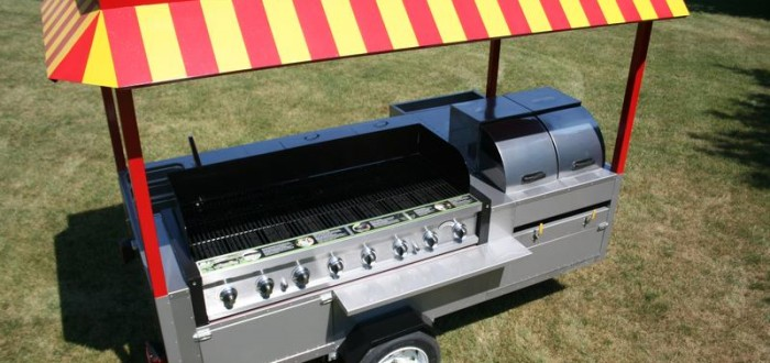 Grand Master Hot Dog Cart; Concession Carts Company
