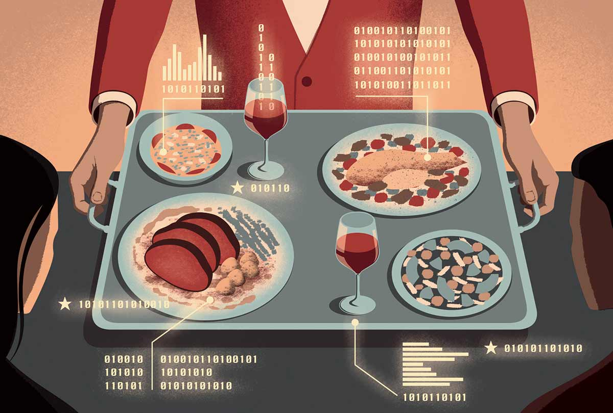 Big Data Dining: Where Everybody Knows Your Name
