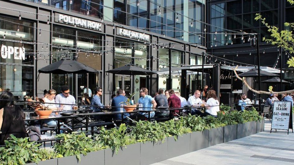 Politan Row dining guide: What to eat and drink at the new West Loop food hall and beer garden